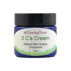 3 C's Cream – Natural Skin Healing Compound, 1oz