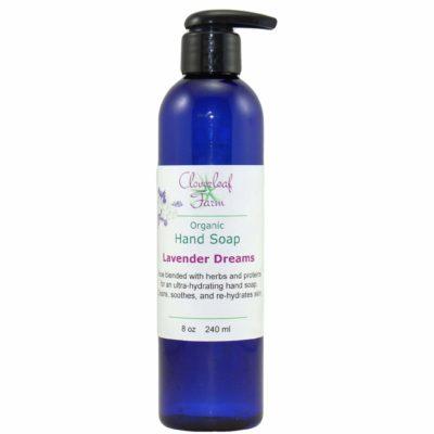 Organic Hand Soap, Lavender Dreams