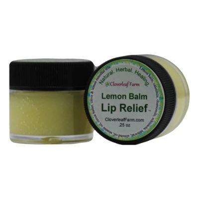 Lemon Balm Lip Relief