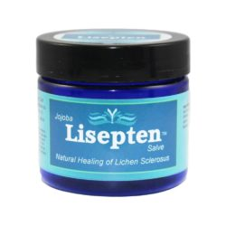 Lisepten Salve with jojoba oil to treat lichen sclerosus naturally