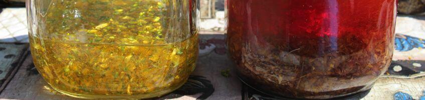 Healing Herbal Oils