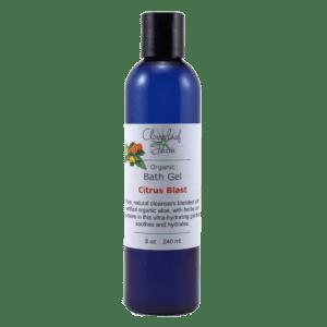 Organic Bath Gel, Citrus Blast