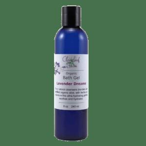 Organic Bath Gel, Lavender Dreams
