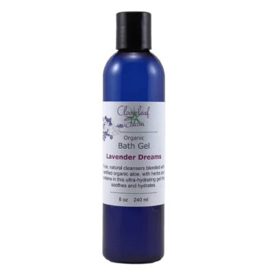 Organic Bath Gel, Lavender Dreams