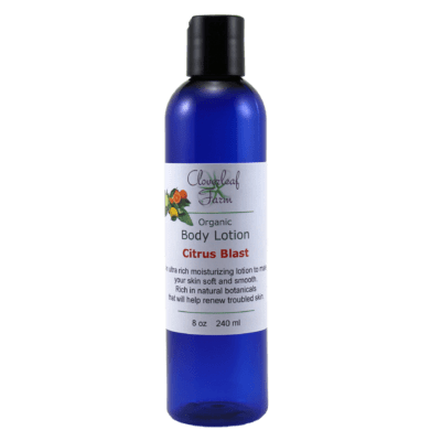 Organic Body Lotion, Citrus Blast