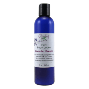 Organic Body Lotion, Lavender Dreams