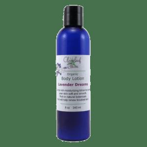 Organic Body Lotion, Lavender Dreams