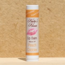 Katie's Kisses Lip Balm – Peach Cobbler