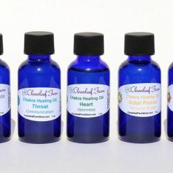 Chakra Healing Oils Set