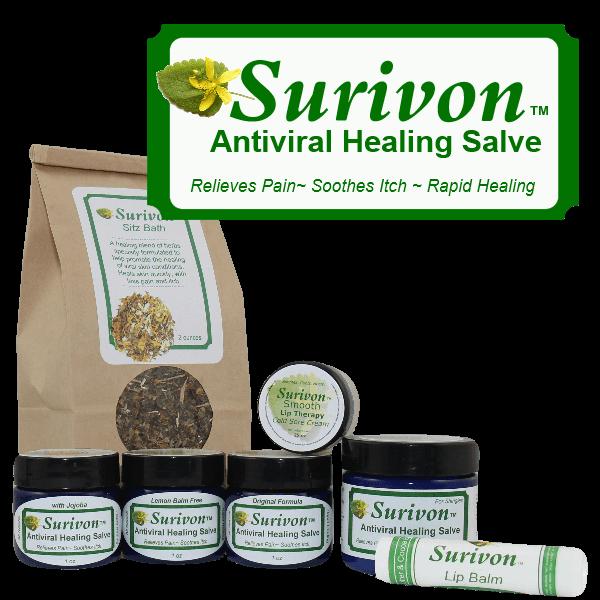 Surivon Antiviral Healing Salve