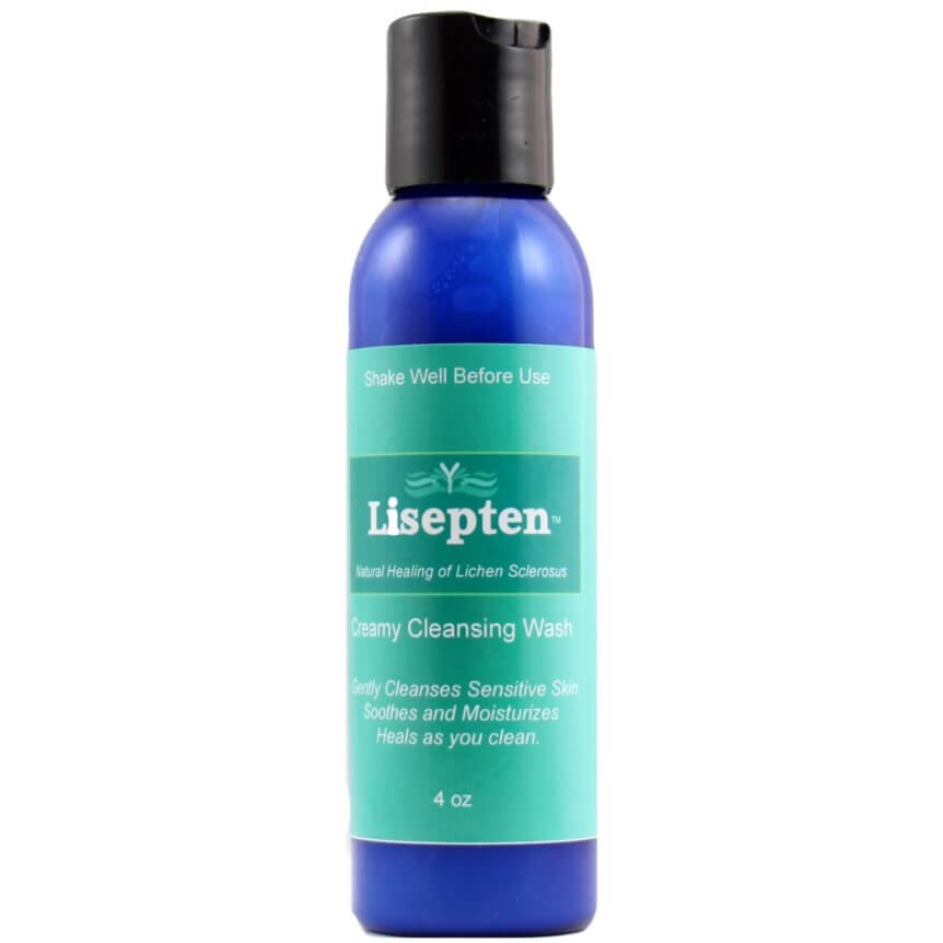 Lisepten Creamy Cleansing Wash for Lichen Sclerosis