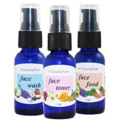 CF Organics Face Trio