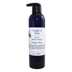 CF Organics Hand Soap Ginger Mint