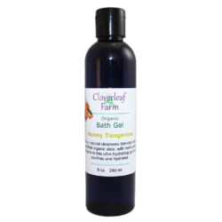CF Organics Honey Tangerine Bath Gel