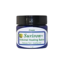 Surivon Cream for herpes, cold sores, and shingles